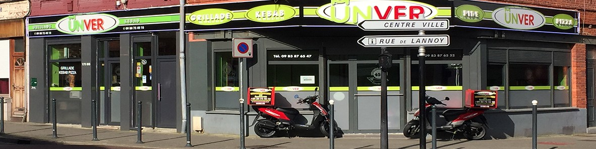 Restaurant Unver Kebab Roubaix